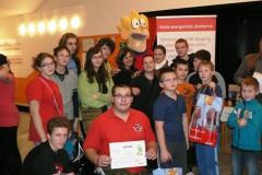 Malá energetická akademie 2011-2012 - vyhlášení vítězů 1. stupně - Objevárium 30.11.2011
