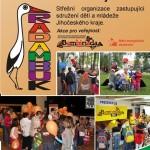 Brožura členských sdružení Rady dětí a mládeže Jihočeského kraje - německá verze