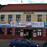 Budova Husova 45 Č.B. kancelář RADAMBUK - nové banery