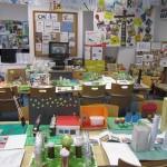 Výstava prací soutěžících Malé energetické akademie 2013 - 2014