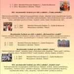 Letní soutěžní festivaly pro děti a mládež - České Budějovice, Třeboň