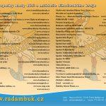 Leták členských spolků RADAMBUK - aktualizace prosinec 2016