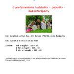 6.5.2016- Bubnování pro děti s rodiči - M-cetrum pro mladou rodinu z.s.