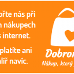 Dobromat.cz - Podpořte naši neziskovou organizaci RADAMBUK při nakupování přes internetové obchody, aniž by vás to stálo co i jen 1 halíř navíc.
