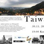 Přednáška projektu Mládež kraji - Taiwan