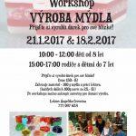 21.1. a 18.2.2017- Výroba mýdel- TVOR z.s.