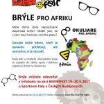 Sbírka brýlí pro Afriku na BAMBIFESTU 19.-20.5.2017