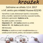Výroba drátkovaných šperků v ICM od 12.4.2017