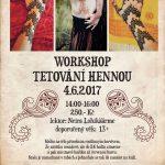 TVOR - 4.6.2017- Tetování hennou workshop
