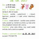 28.9.2017- Sportovní den Skřidla - Mládež kraji
