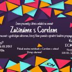 9.,16.10.2017 - Začínáme s Corelem v ICM Č.B. - Týden vzdělávání dospělých v JčK