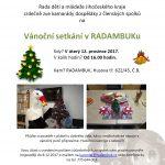 12.12.2017 – Vánoční setkání v RADAMBUKu