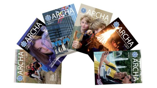 Témata a termíny uzávěrek časopisu Archa v roce 2018