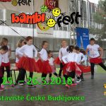 Pozvánka BAMBIFEST 25.-26.5.2018 České Budějovice
