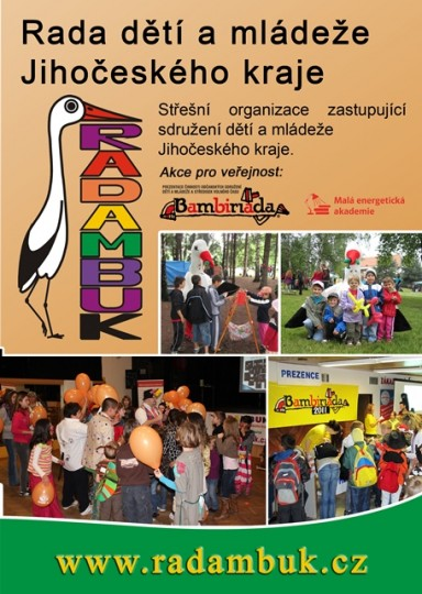 Letáček členských sdružení Rady dětí a mládeže Jihočeského kraje - 6.9.2012