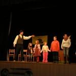 1.12.2012 - Pohádková rezervace v Divadle u Kapličky - vyhlášení vítězů 1. stupně Malé energetické akademie 2012 - 2013