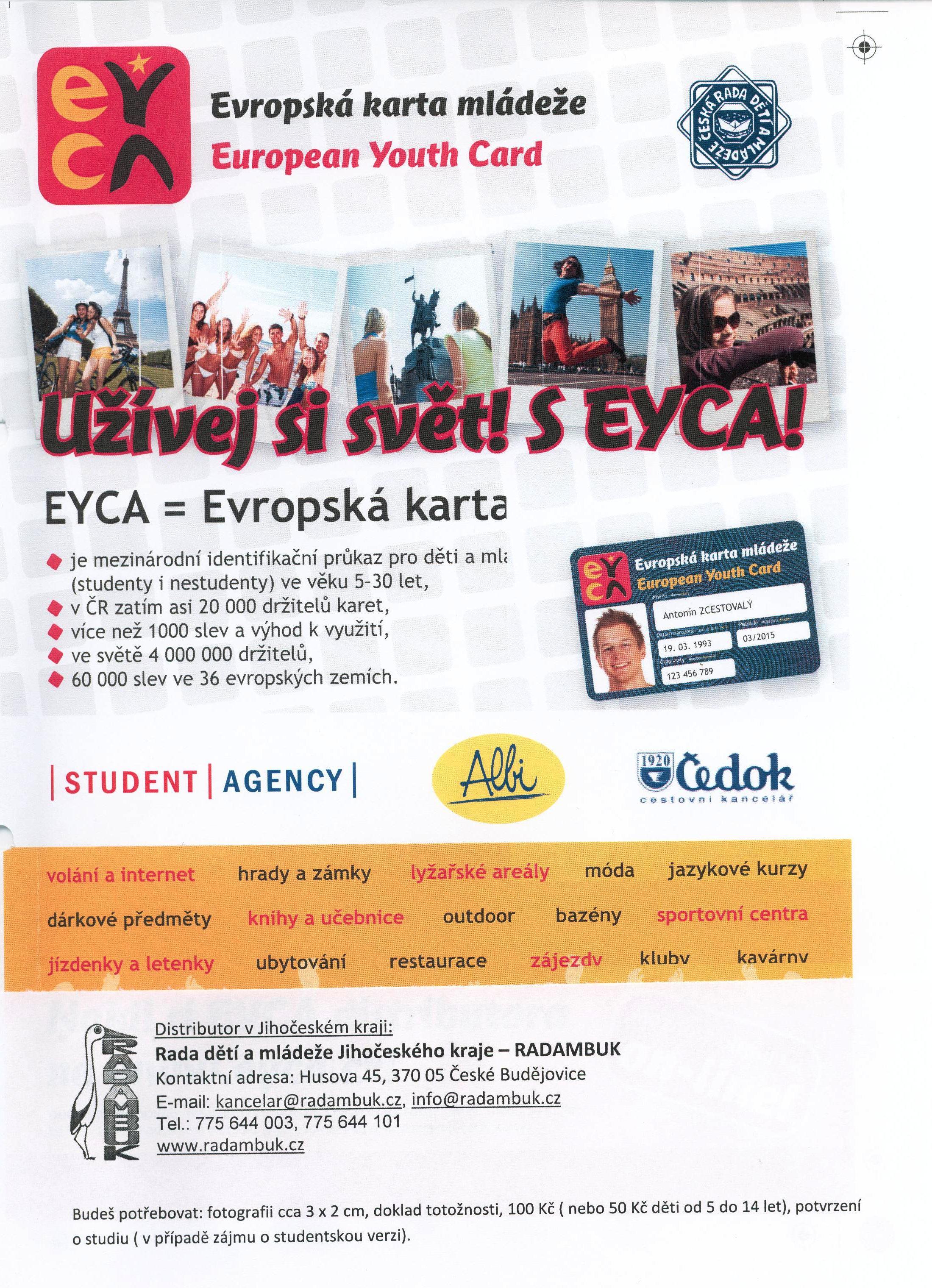 Evropske Karty Mladeze Eyca Radambuk Jihoceska Rada Deti A Mladeze