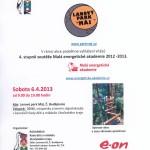 Plakát Lanový park 6.4.2013