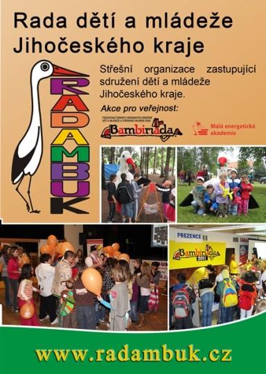 Brožura členských sdružení Rady dětí a mládeže Jihočeského kraje 2013