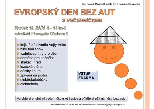 19.9.2013 - Evropský den bez aut s Radou dětí a mládeže Jihočeského kraje