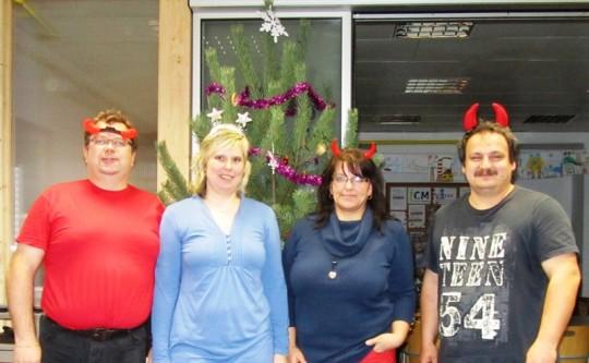 Kancelář RADAMBUK - vánoční dovolená