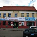 Budova Husova 45 Č.B. kancelář RADAMBUK – nové banery