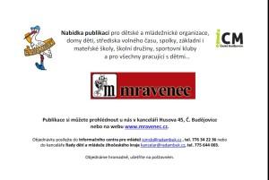 Prodej publikací www.mravenec.cz v RADAMBUK - ICM Č.B.