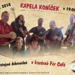 29.10.2014 - Kapela Koníček v kavárně Fér Café