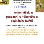 11.9.2015 - Orienťáček a    posezení u táboráku s opékáním buřtů - M - Centrum pro mladou rodinu