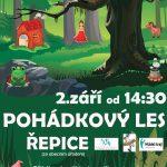 Projekt Mládež kraji- Zábavný den pro děti 1.-2.9.2017 Řepice u Strakonic
