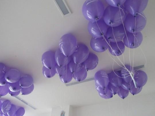 4.12.2015 - Vypouštění balónků s přáním k Ježíškovi, soutěže s Mikulášem a čerty