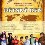 2.6.2016 - Dětský den - Komunitní centrum Máj