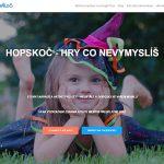 Skauti na Den dětí připravili herní aplikaci HopSkoč