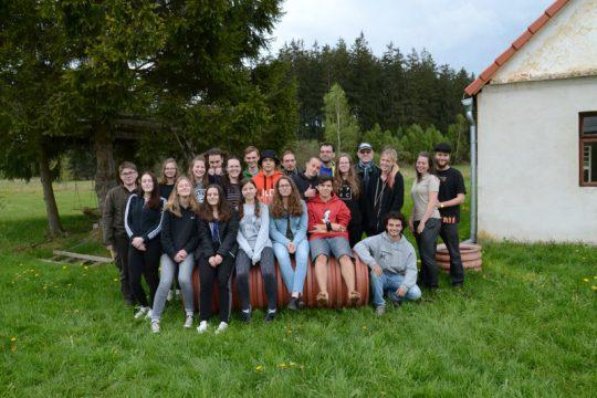 4. - 6.5.2018- Zážitkový kurz Táborová akademie – jaro 2018