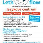 Činnost centra ve školním roce 2017/18  Let's flow English