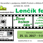 "25.11.2017 - 16. ROČNÍK ""LENČÍK FESTU""- Kocanďáci"
