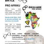 Sbírka brýlí pro Afriku – pokračujeme i v roce 2018