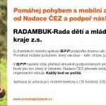 Podpořte do 12.5.2018 pohybem akci BAMBIFEST České Budějovice 2018