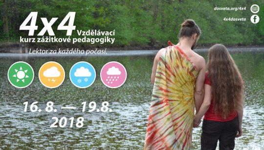 4x4 Metodický kurz zážitkové pedagogiky - Do světa z.s.
