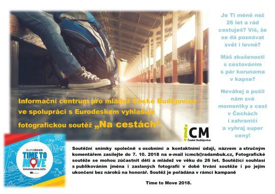 """ICM Č.B. - Fotografická soutěž """" Na cestách"""" do 7.10.2018"""