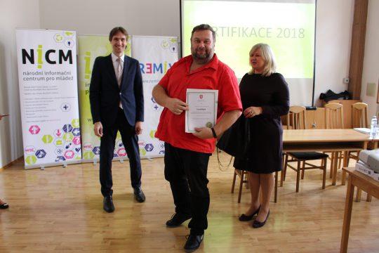 ICM Č.B. obhájilo certifikát MŠMT