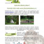 Web www.jihocesketabory.cz  je připraven pro vkládání táborů na rok 2019