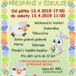 Baby club Šikulka z.s. – akce duben 2019