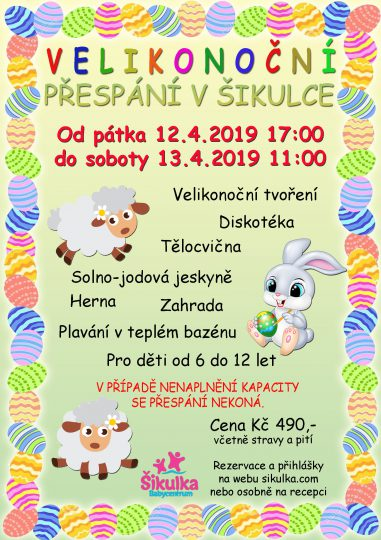 Baby club Šikulka z.s. - akce duben 2019