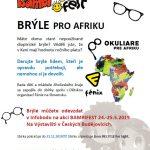 Sbírka brýlí pro Afriku na BAMBIFESTu 24.-25.5.2019