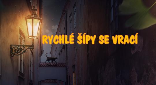 Výtvarně - literární soutěž - ICM Č.B. - Rychlé šípy se vrací - do 30.4.2019 - soutěžte o věcné ceny