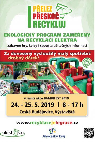 Přelez, přeskoč, recykluj - BAMBIFEST Č.B.