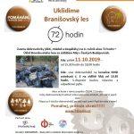 11.10.2019 – Uklidíme Branišovský les – 72 hodin