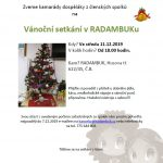 11.12.2019 – Vánoční setkání v RADAMBUKu