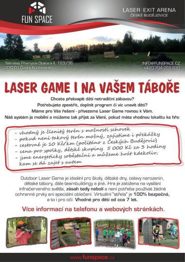Laser game na vašem táboře